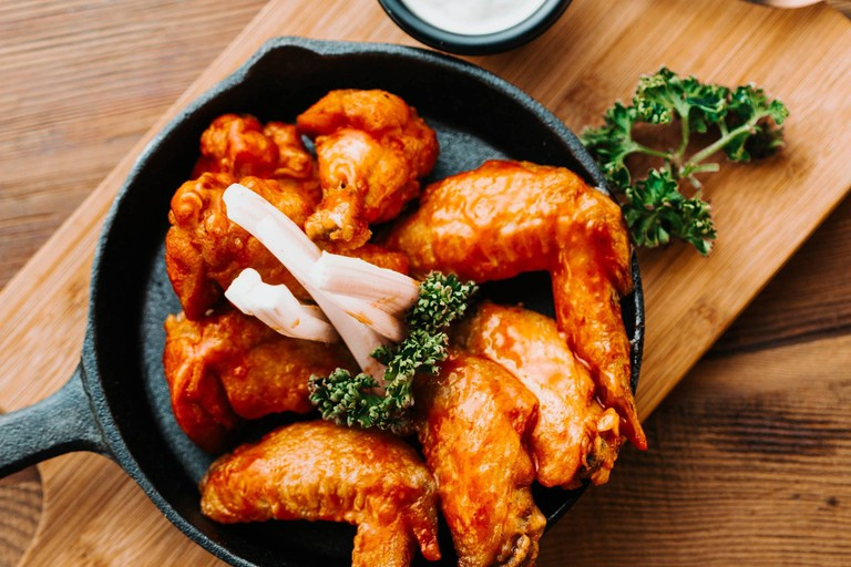 You can't go wrong with wings