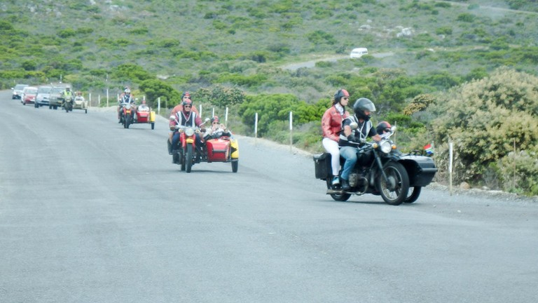 Sidecar tour in Cape Town