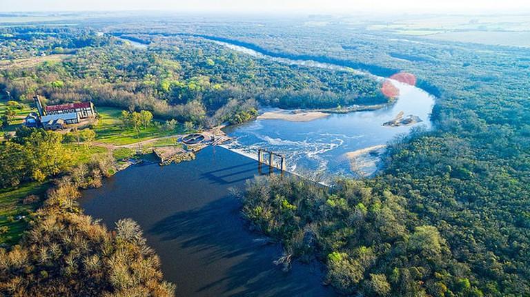 River at Canelones, Uruguay