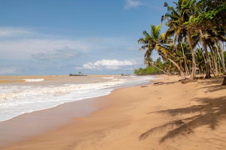 Beach in Axim