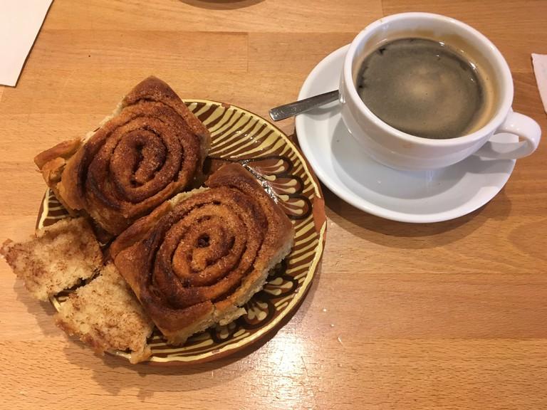 Vegan cinammon swirl in Goodies, Warschauer Strasse, Berlin