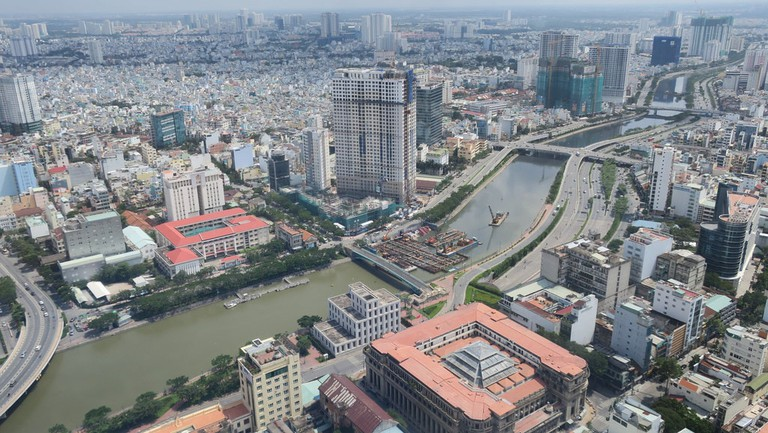 One of the many views from the Saigon Skydeck | © Terrazzo/Flickr