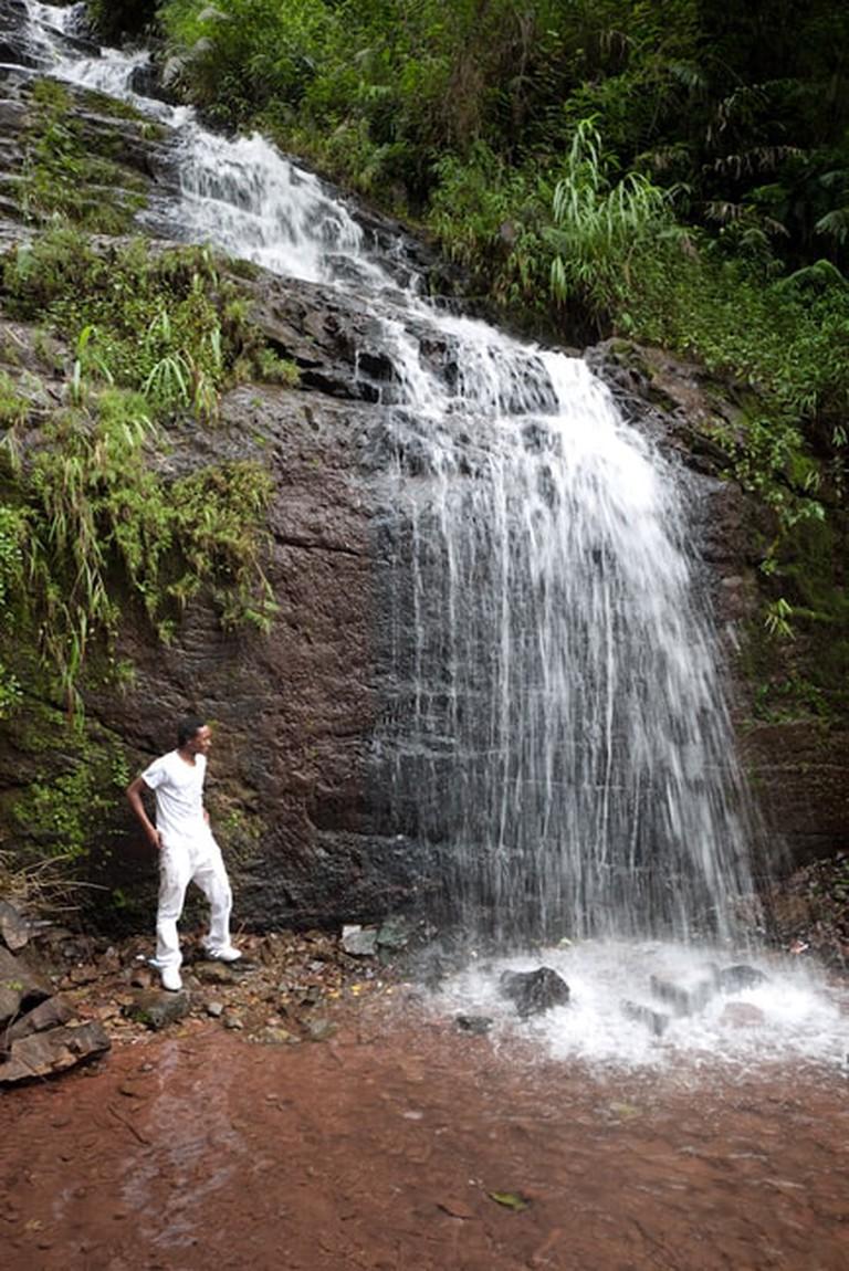 Oudom Xai Waterfall | © Nick Hubbard/Flickr