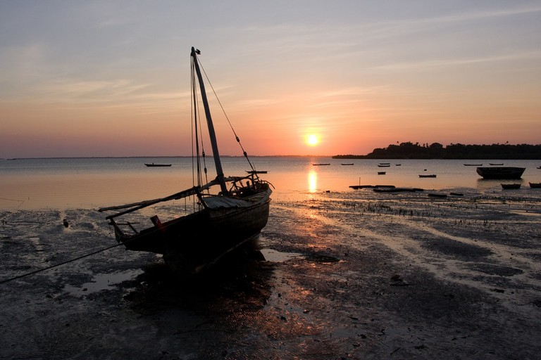 Pemba at sunset