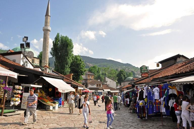 Sarajevo's Ottoman Old Baazar | © Jennifer Boyer/Flickr