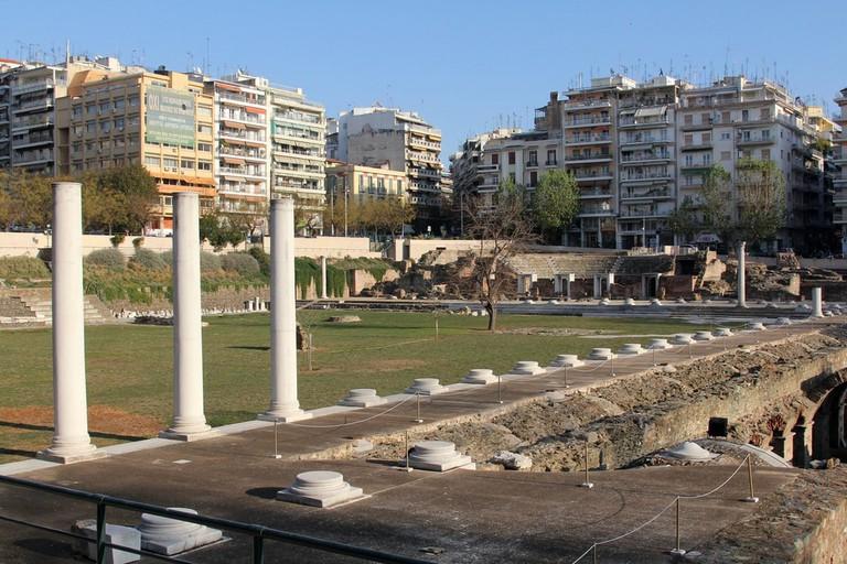 Roman Agora (or Forum), Thessaloniki