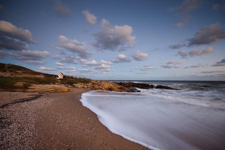 Beach in Punta del Este, Uruguay