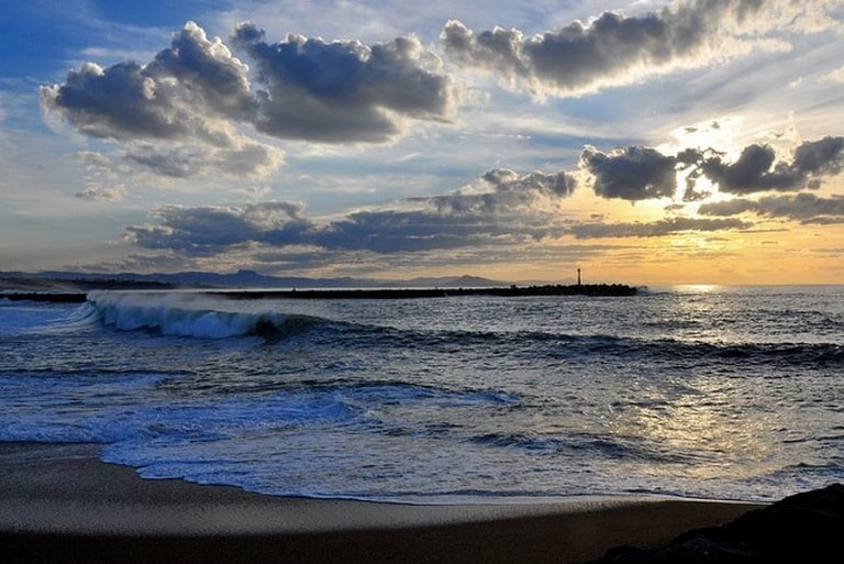 Admire the Atlantic coast panorama and the sunset in Anglet|©Tonio del Barrio 6464:WikiCommons