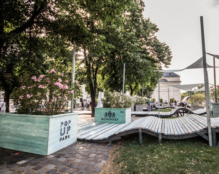 Budapest, Mlinar, Madách Imre tér, Hungary