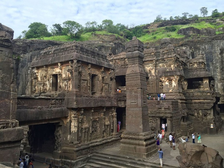 Ellora Caves Ms Sarah Welch WikiCommons
