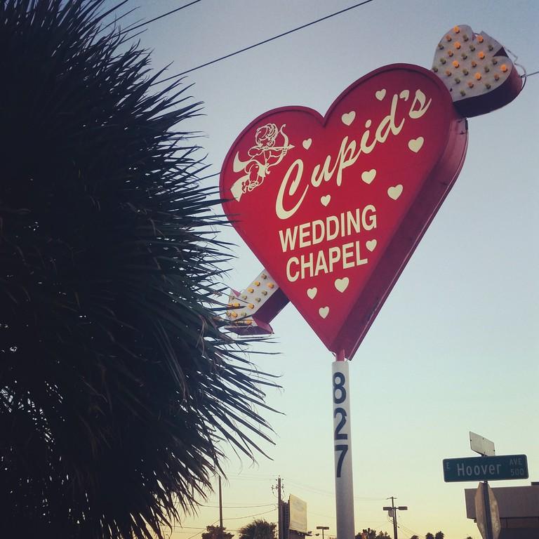 Cupid's Chapel sign. | © Lauryn Wilder