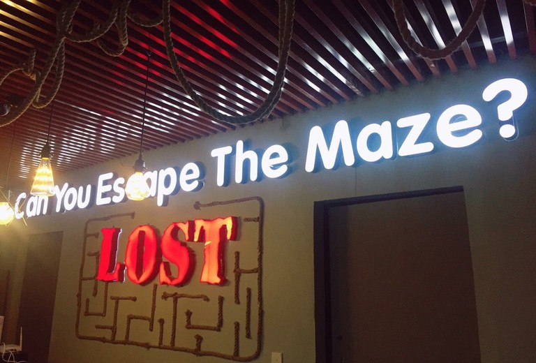 Can you find your way out? | Courtesy of Lost Escape Room