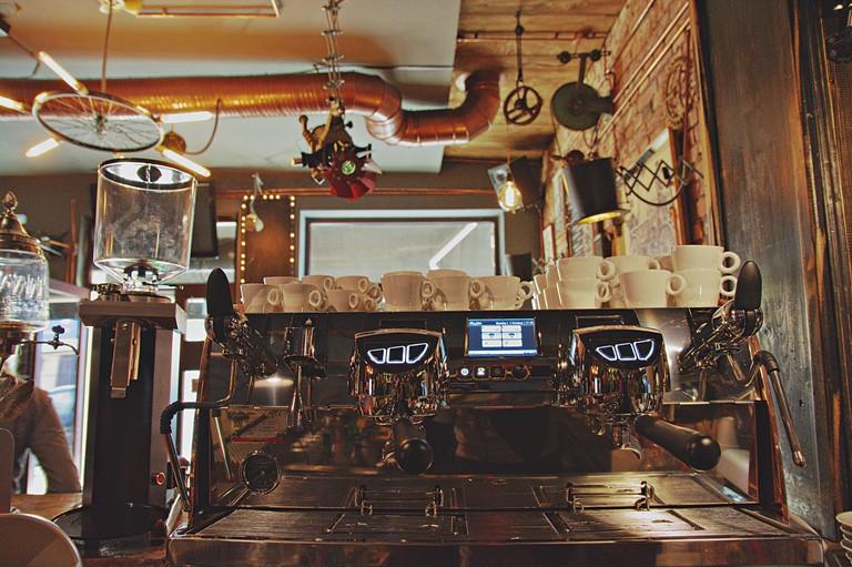 A coffee at Joben Bistro