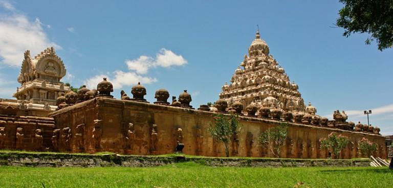 Kailasanathar_Temple._Kanchipuram,_TamilNadu
