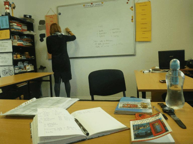 Learning Polish in Gdansk