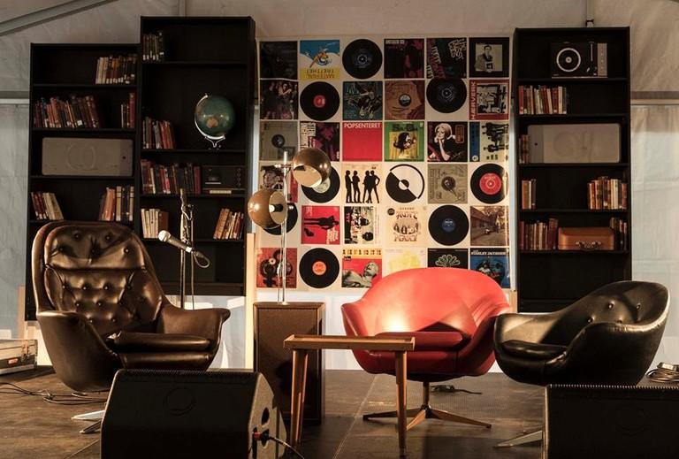 Lounge like a pop star at Popsenteret | Courtesy of Popsenteret