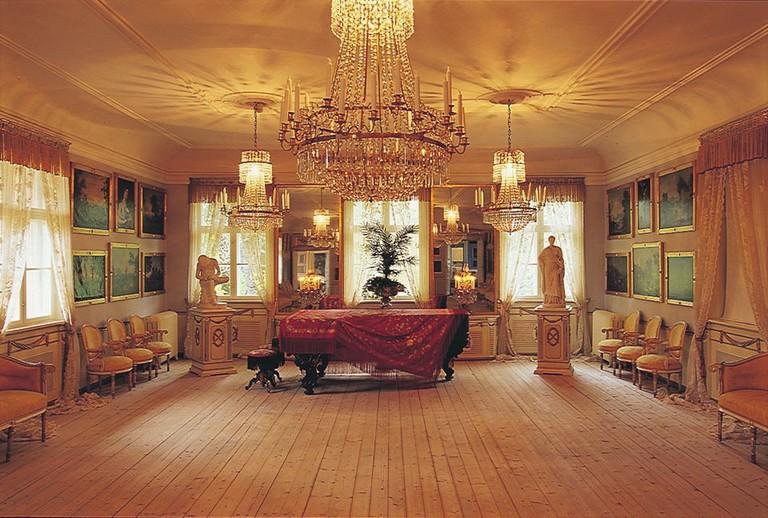 Manor interior   Courtesy of Bogstad Gård