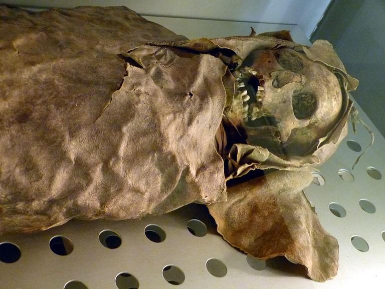 Guanche Mummy   © Wolfgang Sauber / Wikimedia Commons