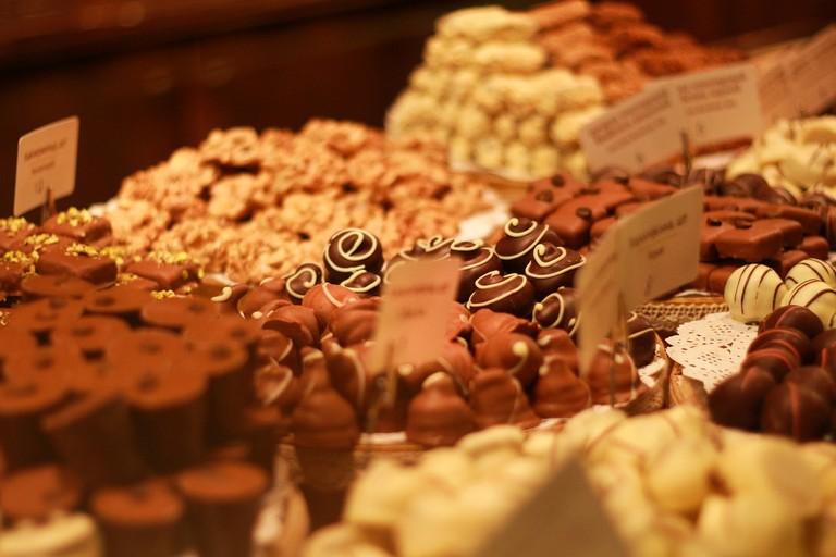 شوكولاتة لفيف