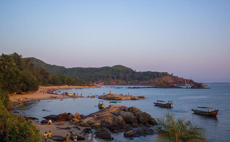 Om beach Gokarna