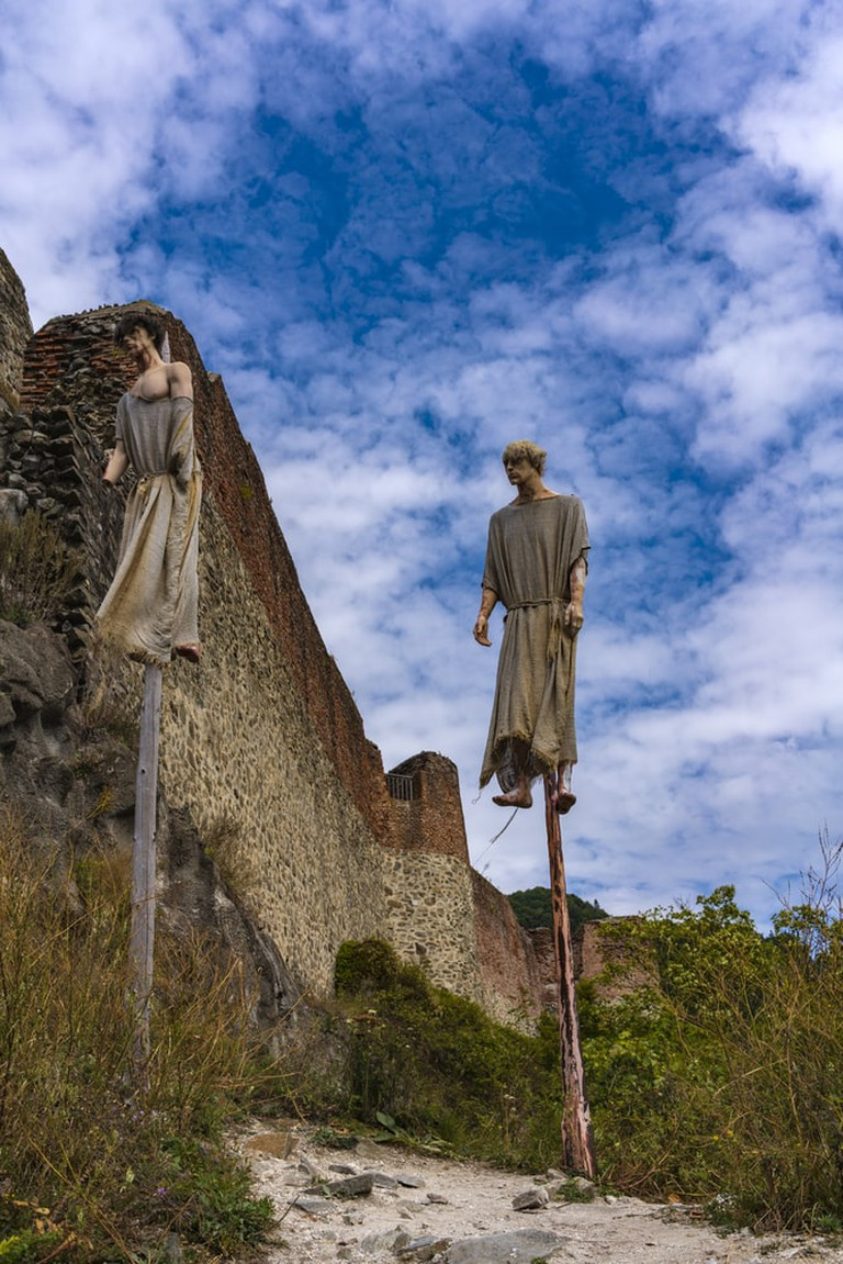 Poienari Forteress, a place of terror