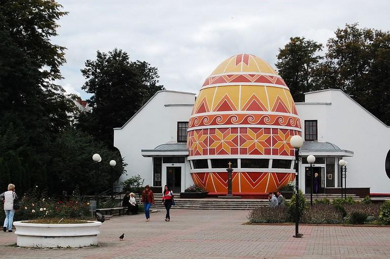 Pysanka Museum in Kolomyia