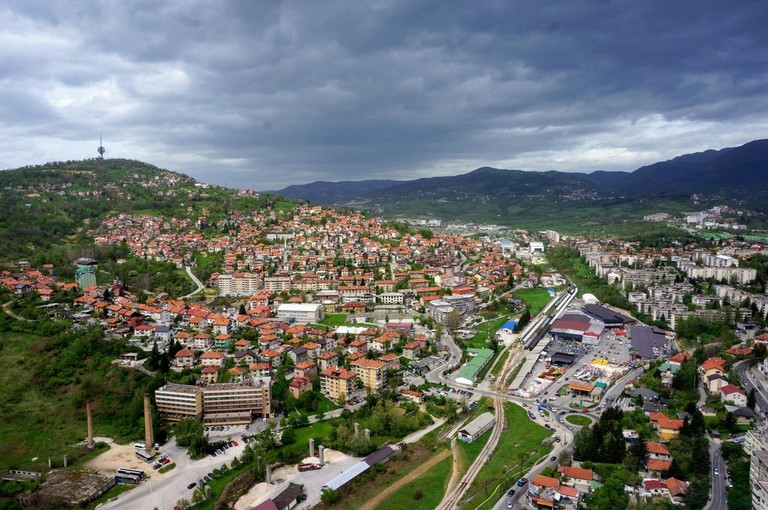 View from Avaz Tower | © Sam Bedford