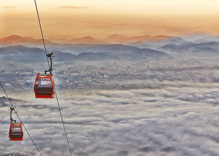 Cable care in Maribor Pohorje | © onixxino/Shutterstock