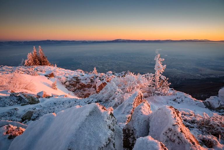 Frosty sunrise in Vitosha, Bulgaria | © Todor N Nikolov/Shutterstock