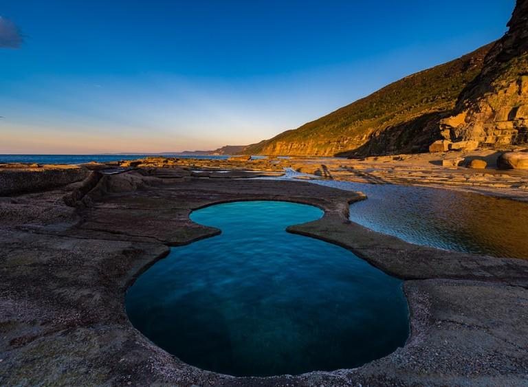Figure 8 Pools at Royal National Park