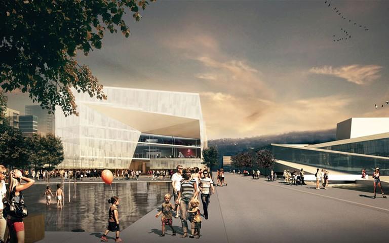 The New Deichman Main Library