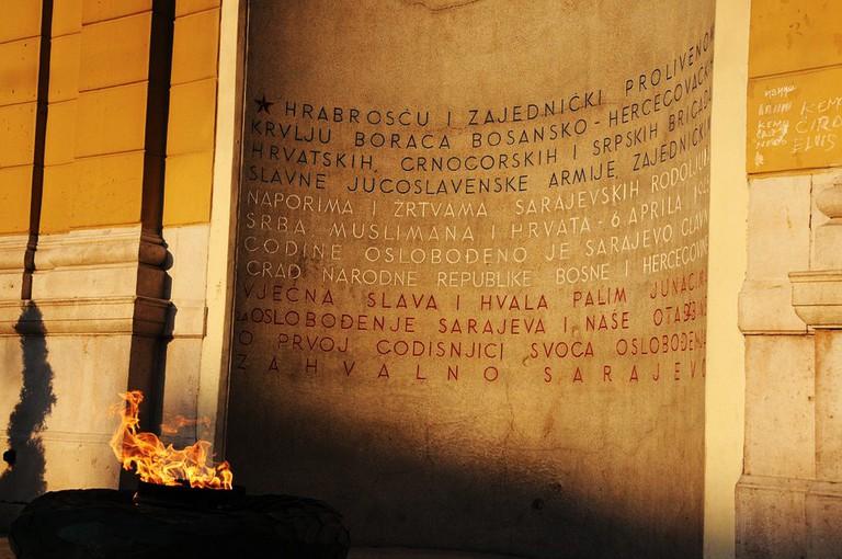 Eternal Flame in Sarajevo | © Smooth_O/WikiCommons