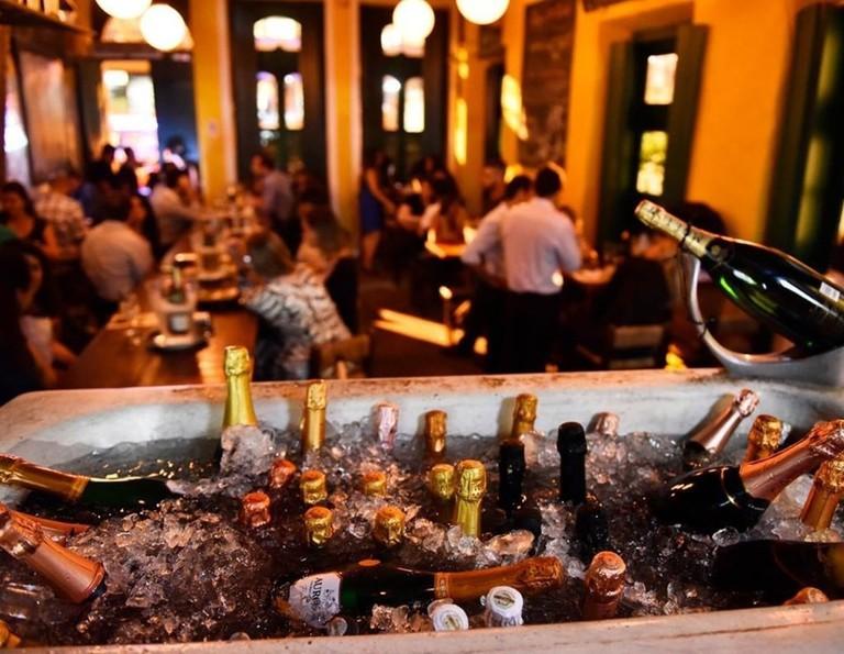 Champagne in Rio