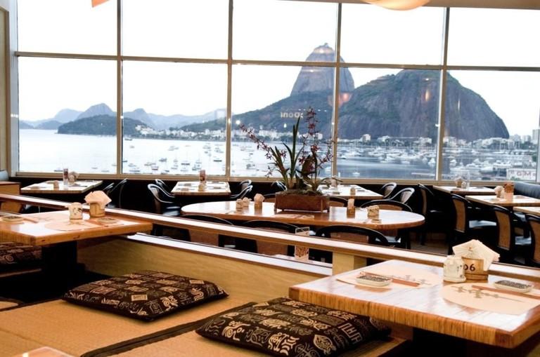 Beautiful views at Kotobuki restaurant