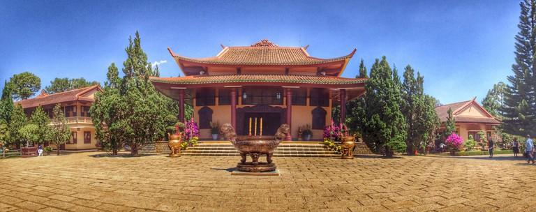Truc Lam Pagoda in Dalat | © Quang Vũ Trương/Flickr