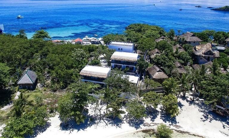 White sand beach of Blanco Resort