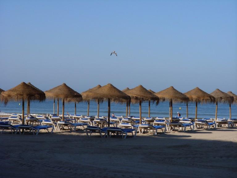 Cádiz's Playa Victoria is just 200 metres from Hotel Regio; Petrina Hu