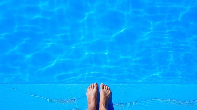 Relax in one of the pools