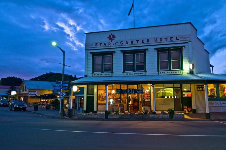 Star and Garter Hotel, Coromandel Town
