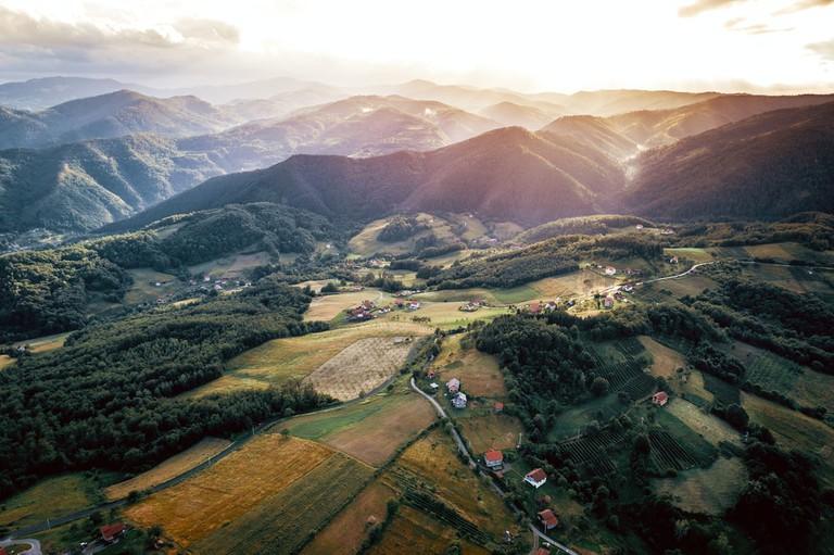 Mountain villages in Zepce municipality in Central Bosnia and Herzegovina | © Ajan Alen/Shutterstock