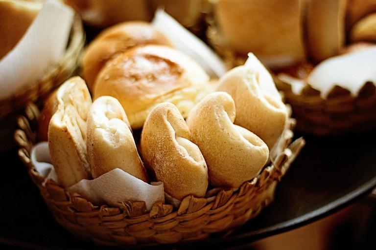 German bread rolls