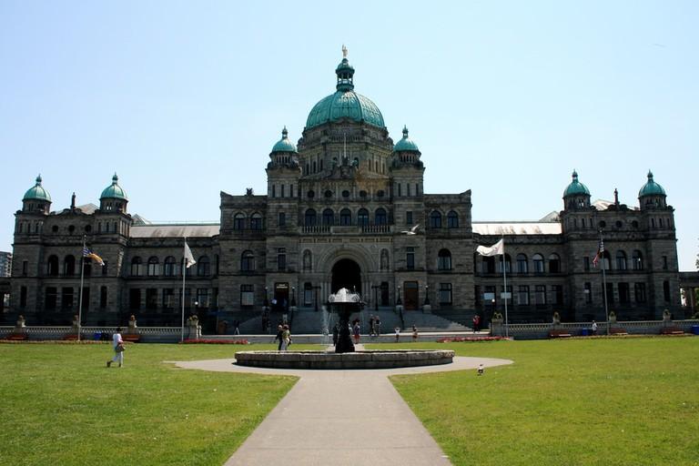 British Columbia Parliament Building   © Scazon / Flickr