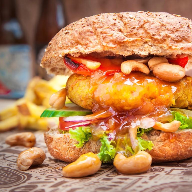 Meneer Smaker's Tante Lieke vegan burger