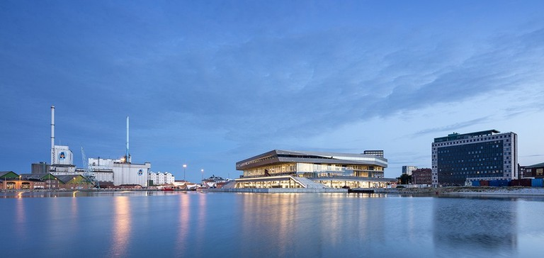Dokk1 view from the harbour   Courtesy of SHL Architects