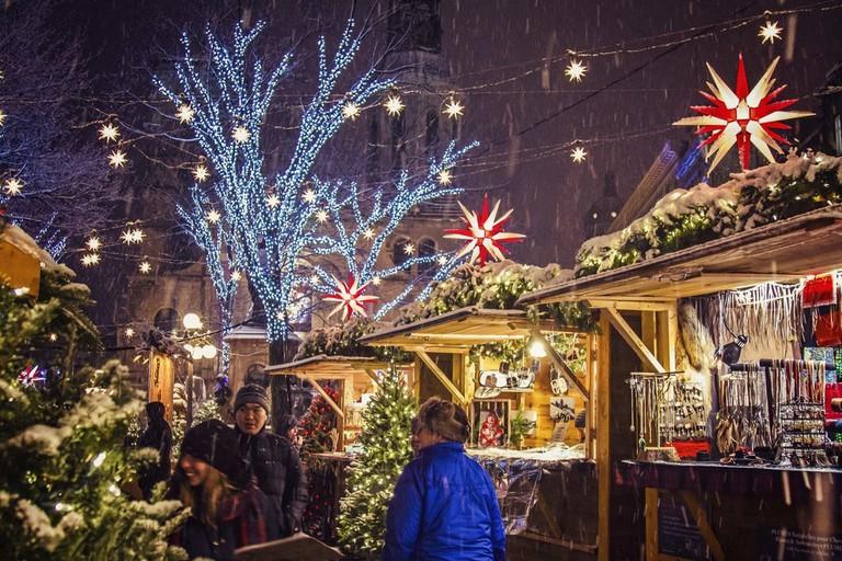 German Christmas Market - Quebec City | © Genevieve Roussel