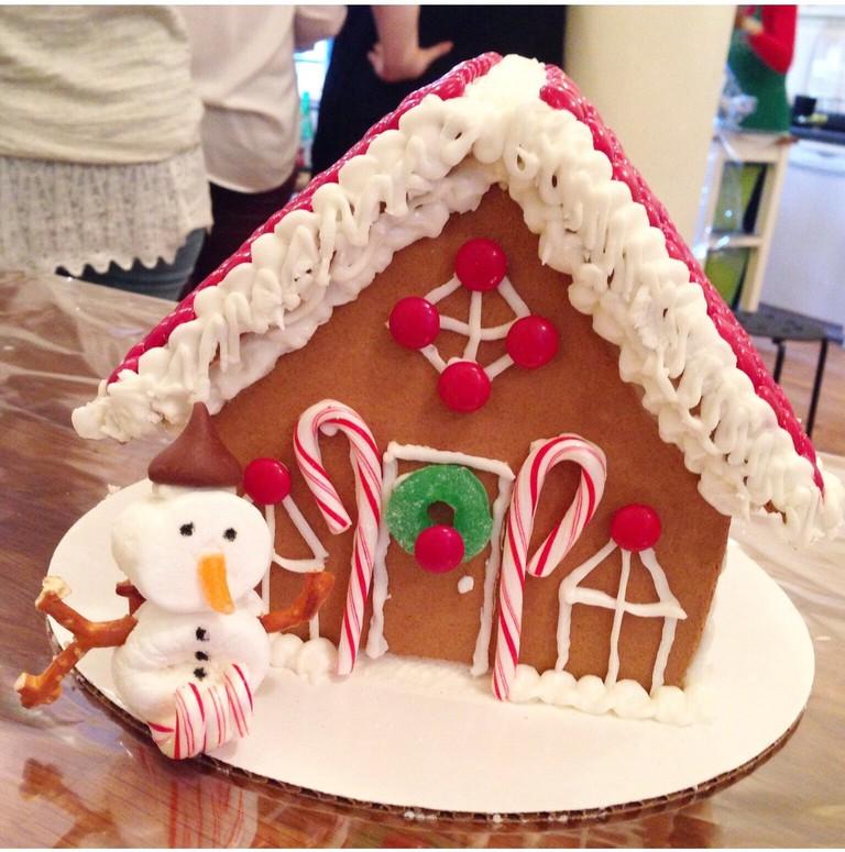 Gingerbread House Courtesy of Taste Buds Kitchen