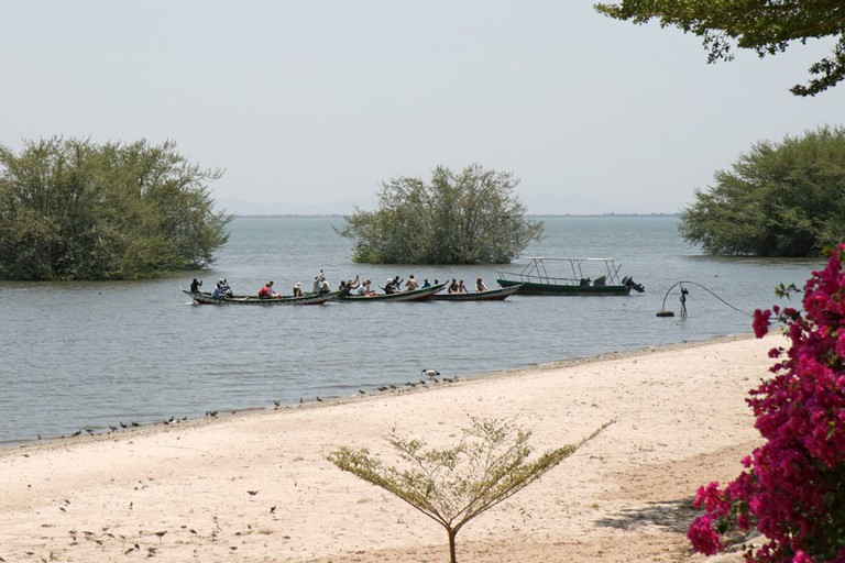 Speke Gulf on Lake Victoria
