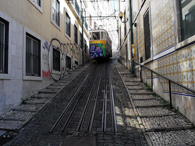 https://commons.wikimedia.org/wiki/File:Lisboa_Ascencor_do_Lavra_outside.JPG