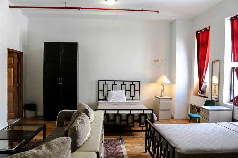 The New York Moore Hostel offers both private and shared dorm rooms