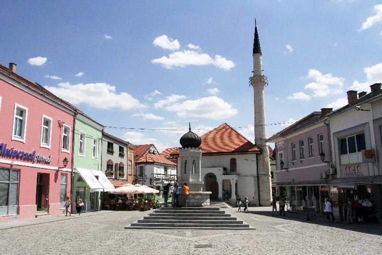 Public fountain Tuzla Bosnia | © Little Green Dragon